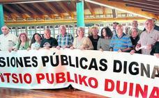 El PNV cita en Sabin Etxea a asociaciones de jubilados para intentar apaciguar las protestas
