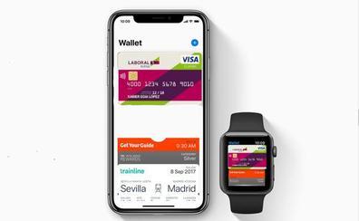 Los clientes de Laboral Kutxa podrán pagar con el iPhone antes de diciembre