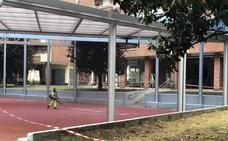 La instalación de los juegos del parque cubierto de Arrigorriaga se retrasa a agosto