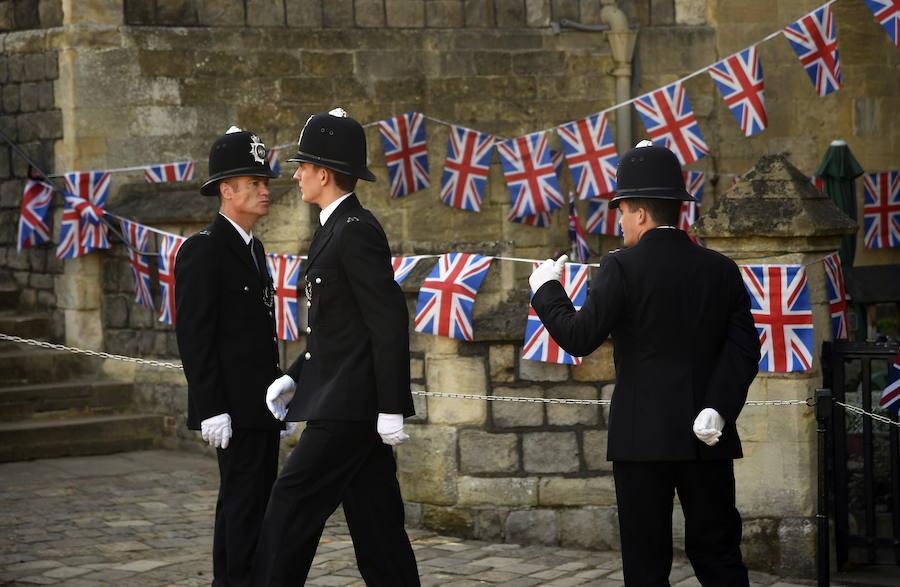 Todo listo para la boda entre el príncipe Harry y Meghan