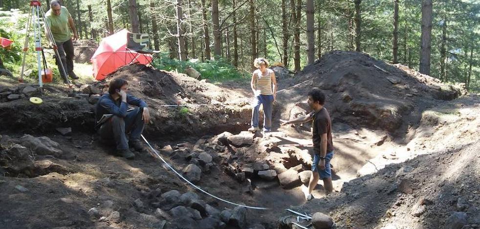 Euskadi ya producía hierro en ferrerías de hace 2.500 años