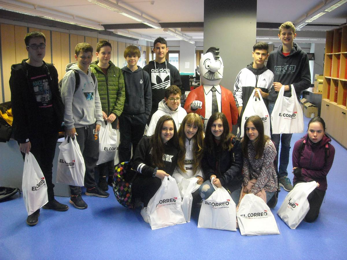 Visita centro escolar Armentia (Vitoria-Gasteiz) - 17, 20 y 27 de abril de 2018