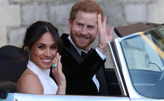 Meghan y Enrique./REUTERS