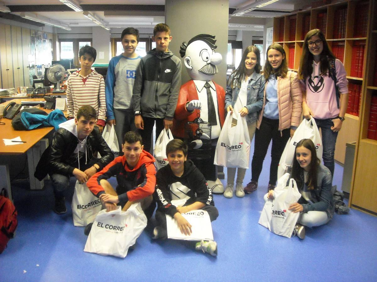 Visita centro escolar Ikasbidea (Vitoria-Gasteiz) - 11 de mayo de 2018
