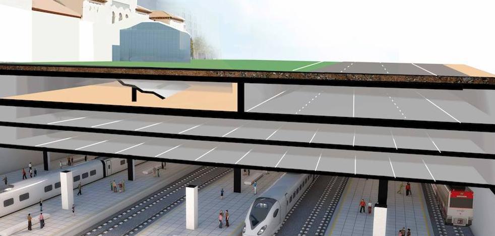 La estación de Dato tendrá un nuevo edificio acristalado, tres plantas subterráneas y un gran parking