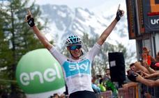 El Giro hace una reverencia a Froome