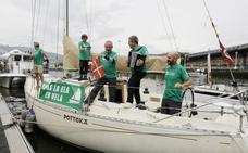 Una travesía contra la ELA de Bilbao a Finisterre