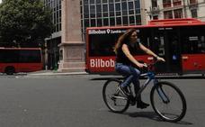 Los ciclistas de Bilbao, bajo vigilancia