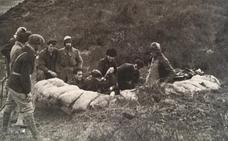 El último combate en el frente del Alto Nervión-Ayala