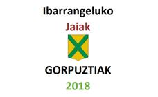 Programa de fiestas de Ibarrangelu 2018