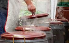 Las putxeras de Balmaseda conquistan con sus alubias el Málaga Gastronomy Festival