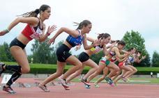 Basauri y Galdakao se cuelgan nueve medallas en los campeonatos de Bizkaia de atletismo al aire libre