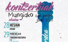 Conciertos de las fiestas de Mungia: San Pedro 2018
