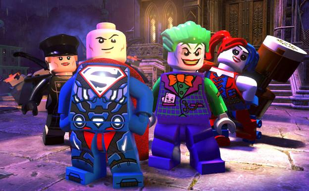 Lanzamiento De Lego Dc Super Villanos Para Ps4 Xbox One Nintendo