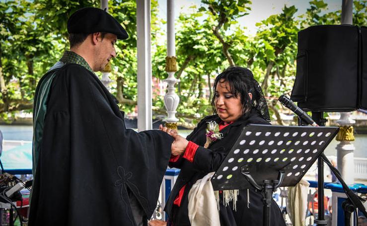 Portugalete celebra su boda vasca