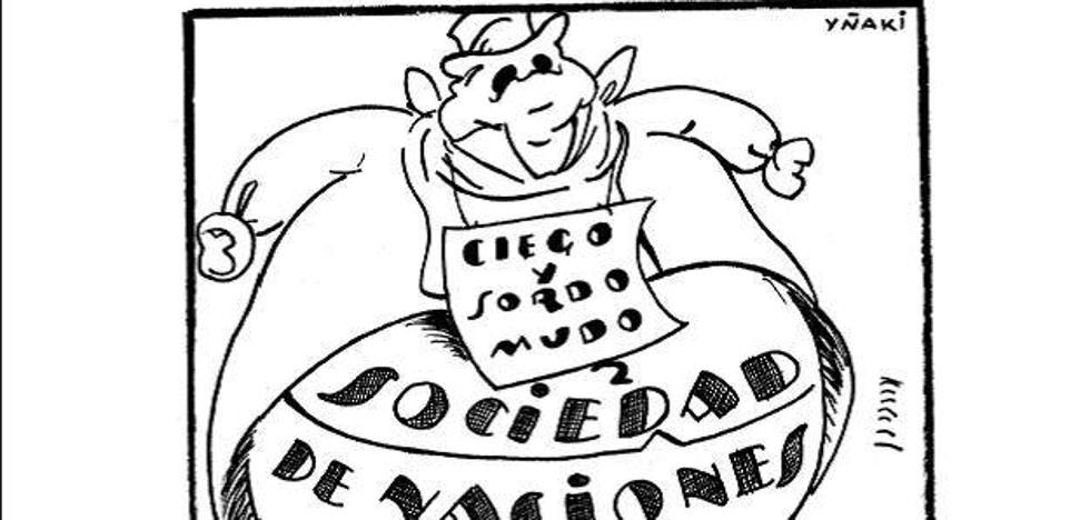 Cuando Bizkaia se reía de Franco: viñetas desde la trinchera