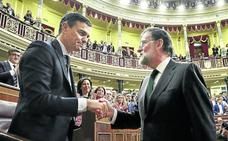 Pedro Sánchez presidirá el Gobierno con menos apoyos