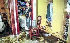 Los vecinos de Amurrio y Llodio: «No hemos visto llover así en treinta años»