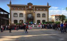 300 de personas reclaman la retirada de la OTA en Gorliz