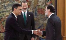 Rajoy se va, llega Sánchez