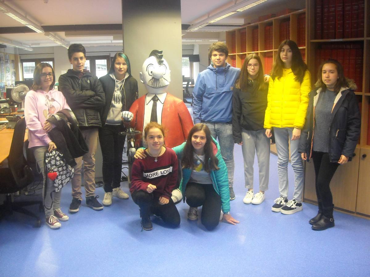 Visita centro escolar Inmaculada Concepción (Vitoria-Gasteiz) - 4 de mayo de 2018
