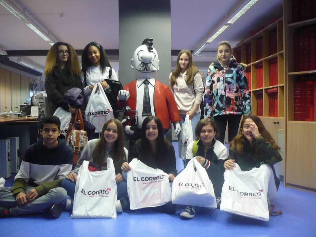 Visita centro escolar Mercedarias (Vitoria-Gasteiz) - 30 de mayo de 2018