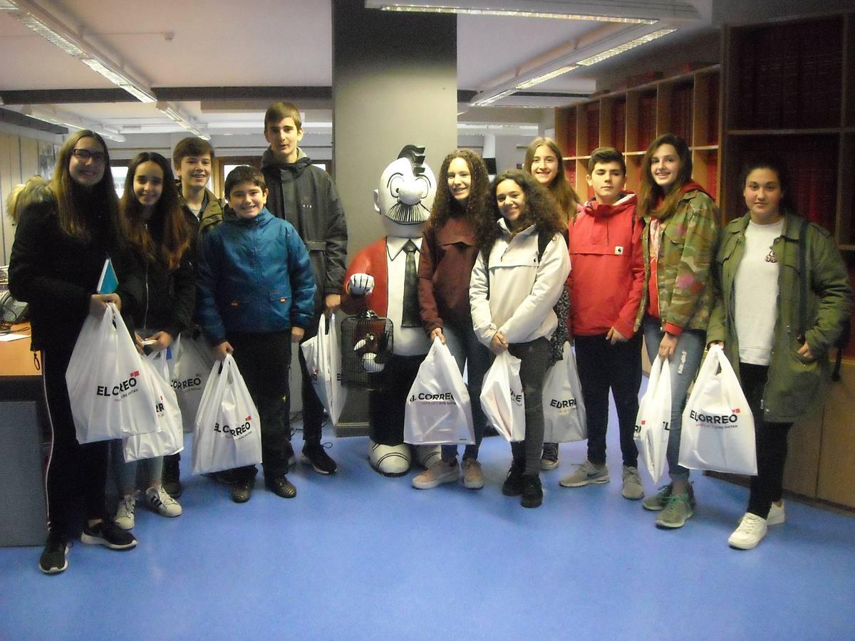 Visita centro escolar Niño Jesús (Vitoria-Gasteiz) - 17 de mayo de 2018