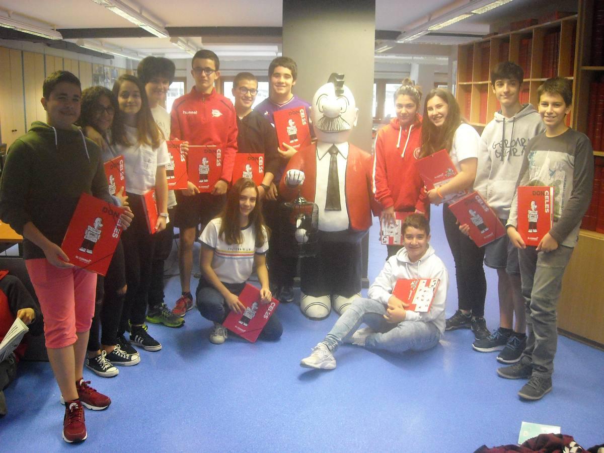 Visita centro escolar Miguel de Unamuno (Vitoria-Gasteiz) - 25, 28, 29 y 31 de mayo de 2018