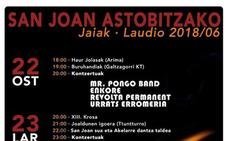 Programa de fiestas de Llodio 2018: San Joan Astobitzako Jaiak