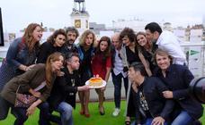 Celebración del X aniversario del FesTVal en la Puerta del Sol de Madrid