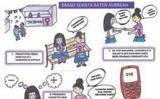 Los 'Sanantonios' llegan con un cómic contra las agresiones sexistas