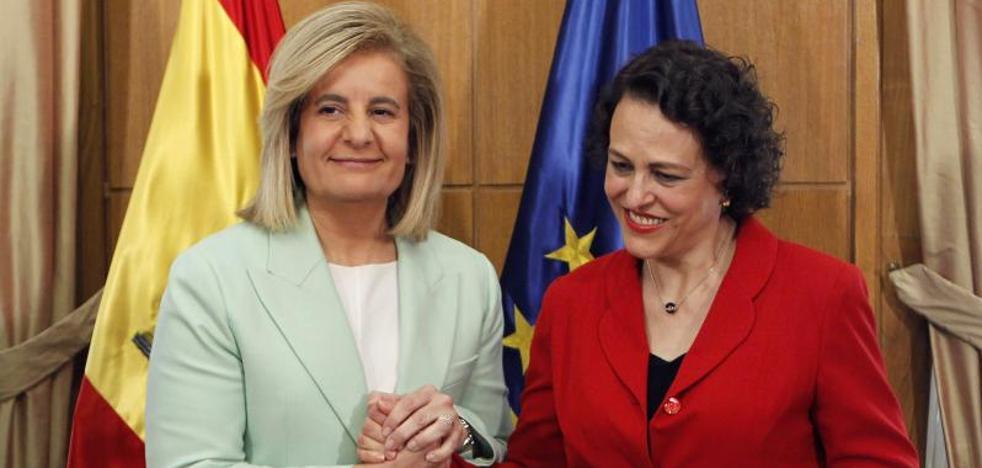 Valerio, «convencida» de poder lograr un «gran pacto» por las pensiones