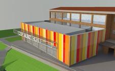 Sestao autoriza construir un gimnasio en el colegio Álbiz