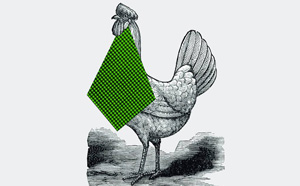 Pollo y ensalada