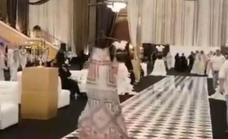 Drones por mujeres en los desfiles de moda de Arabia Saudí