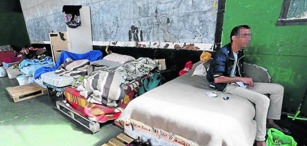 Identifican a seis sospechosos de agredir encapuchados a inmigrantes en Rekalde