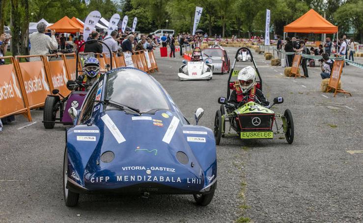 Primer campeonato de vehículos eléctricos de centros de FP en Vitoria