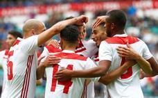 Marruecos consigue una plácida victoria antes de viajar a Rusia