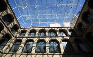El Museo Vasco estrena la nueva cubierta del claustro