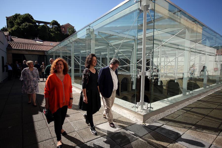 La cúpula del Museo Vasco de Bilbao