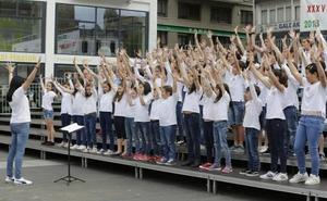Galdakao canta a toda Bizkaia