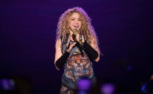Los hijos de Shakira acuden al concierto de su madre