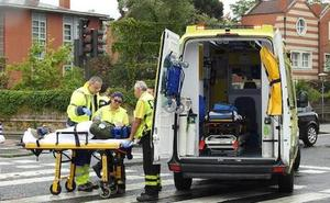 Herida una mujer al ser atropellada en un paso de peatones de Getxo