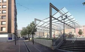 Sestao iniciará las obras para cubrir la plaza San Pedro en menos de un mes