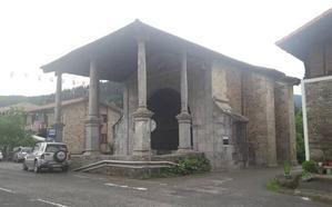 El Ayuntamiento de Zeberio escritura el humilladero de Ermitabarri