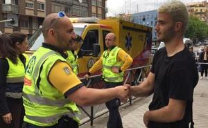Manu, el héroe de Madrid de 19 años que sacó de una parada cardíaca a un conductor