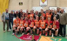 Las infantiles del Kukullaga Etxebarri se proclaman campeonas de España