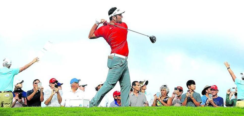 Rahm cumple en el US Open cincuenta torneos como profesional