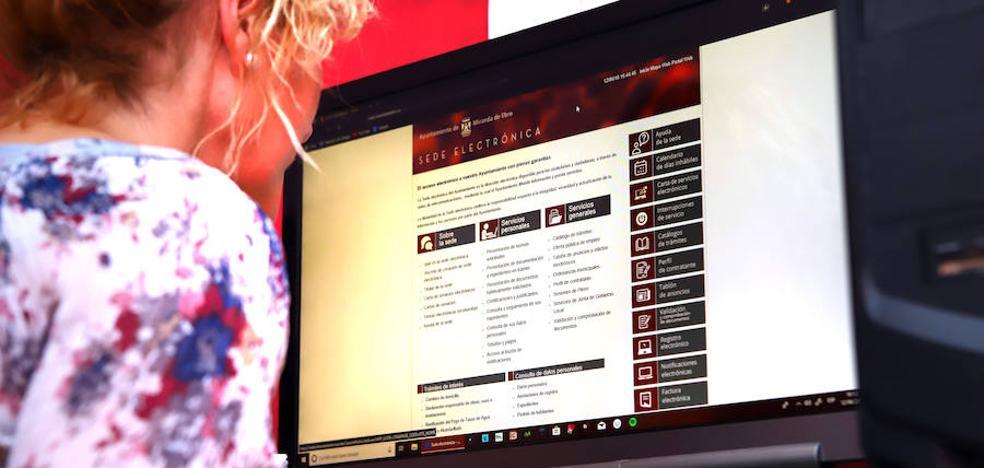 Miranda avanza en la gestión de la sede electrónica que le acercará a la ciudadanía