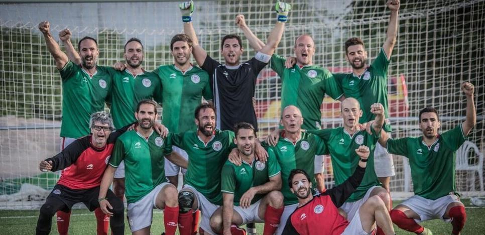 Los Bomberos de Bizkaia ganan el campeonato nacional de fútbol 7